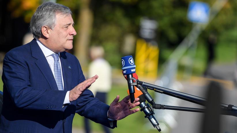 Italien: EU-Parlamentspräsident Tajani will Regierungschef werden
