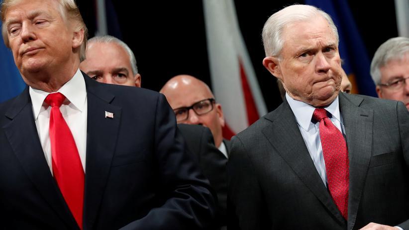 US-Justizminister: Sessions wehrt sich gegen Trump-Kritik