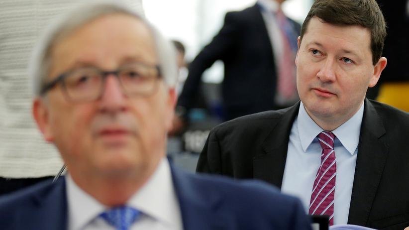 EU-Kommission: Juncker drohte im Streit um Selmayr mit Rücktritt