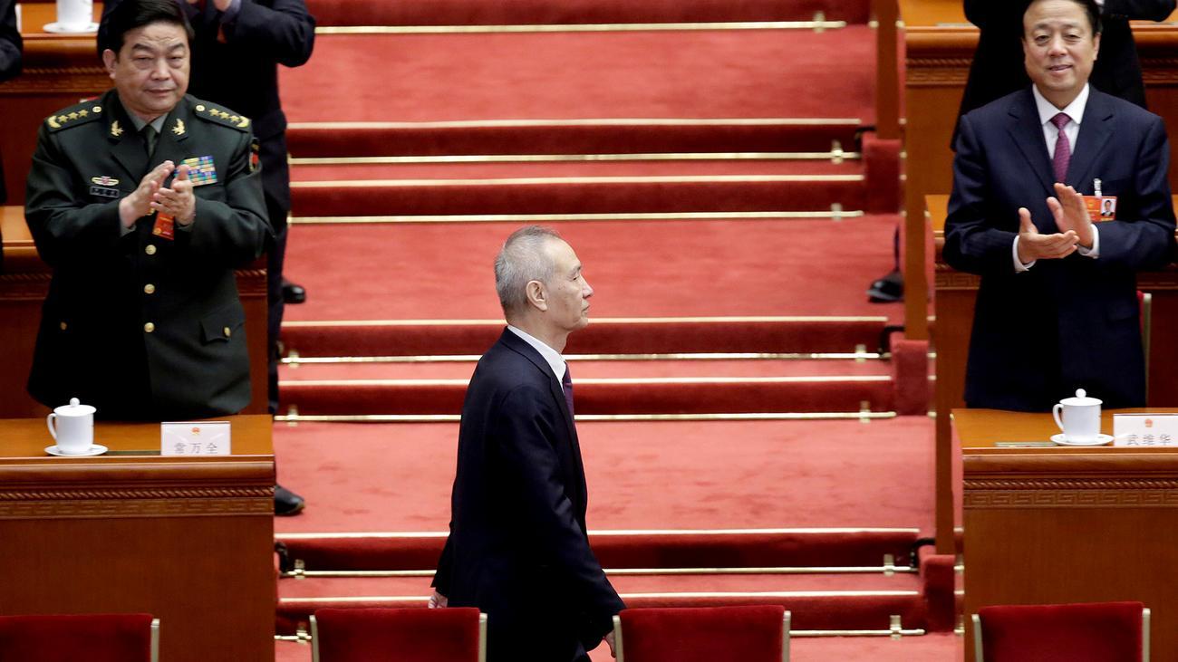 Liu He: China stellt Regierung neu auf