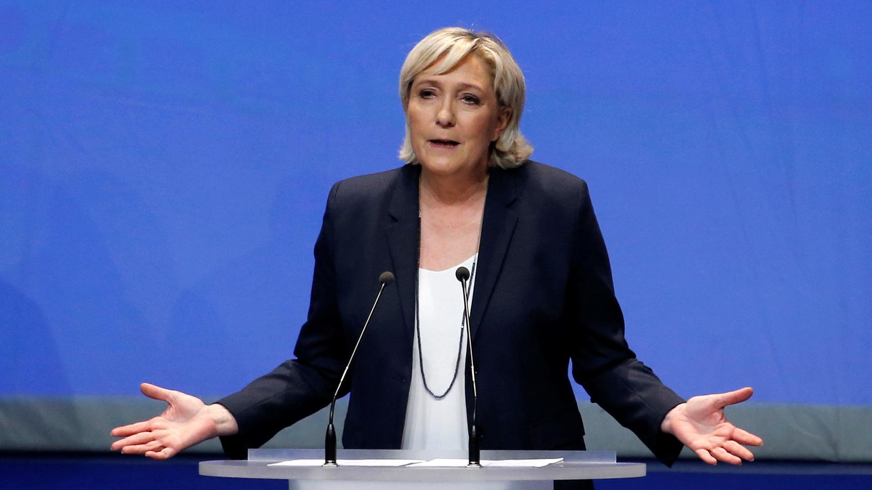 100 Prozent für Marine Le Pen