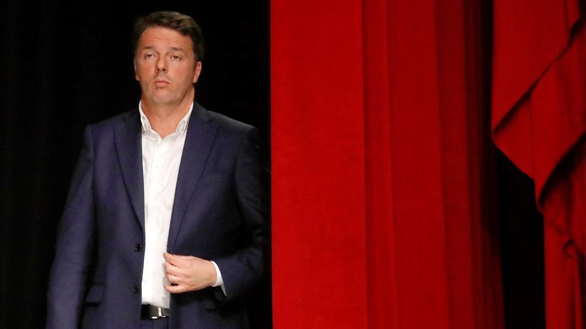 Italien-Wahl: Renzi gibt Parteivorsitz auf
