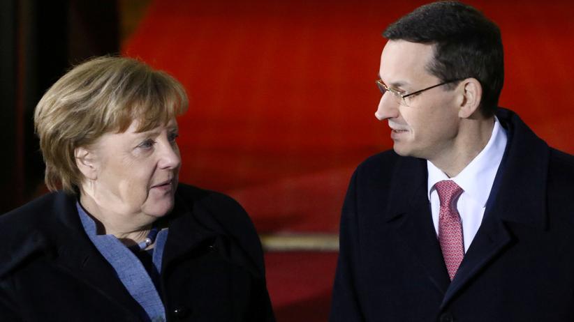 Merkel in Polen: Wichtig ist, was nicht gesagt wird
