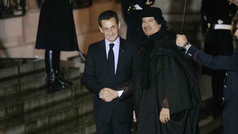 Nicolas Sarkozy: Half Gaddafi ihm ins Präsidentenamt?