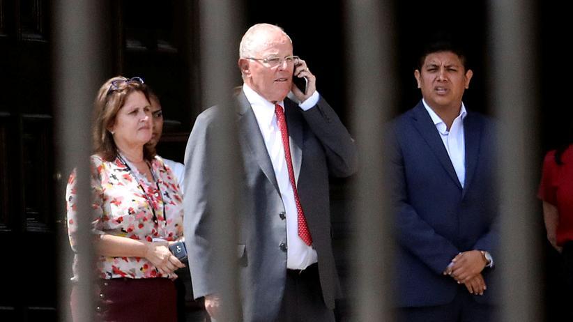 Pedro Pablo Kuczynski: Perus Ex-Präsident darf Land nicht verlassen