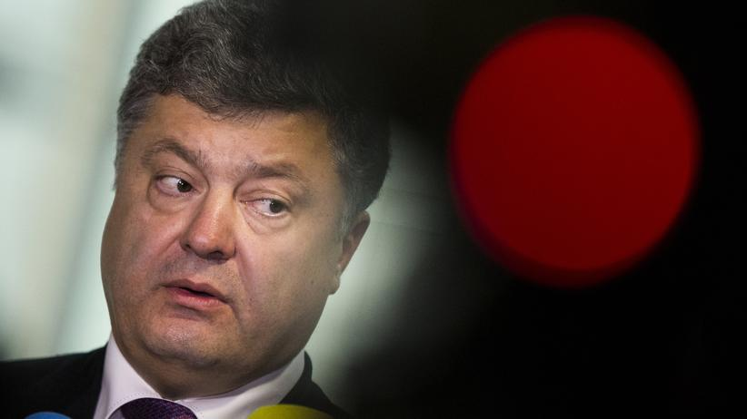 Ukraine: Poroschenko fordert Blauhelmeinsatz im Ostukraine-Krieg