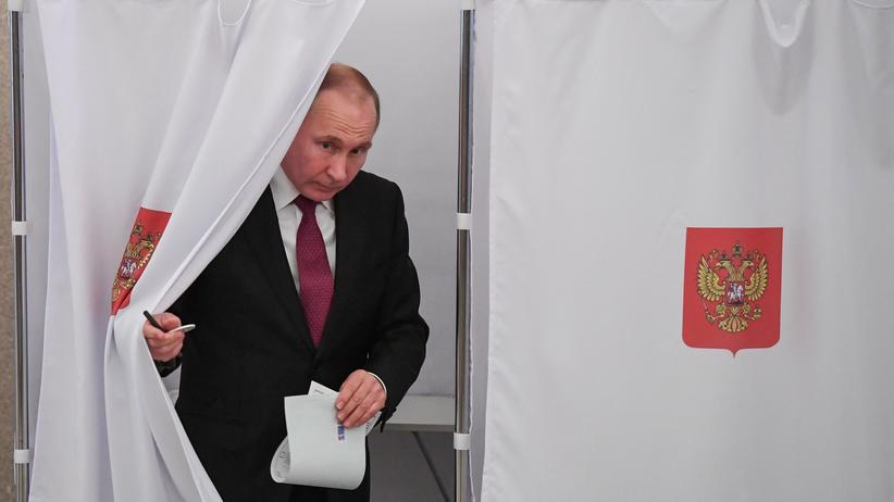 Präsidentschaftswahl in Russland: Behörde spricht von höherer Wahlbeteiligung