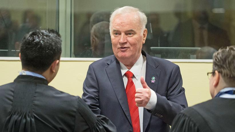 UN-Tribunal: Mladić legt Berufung gegen Völkermordurteil ein