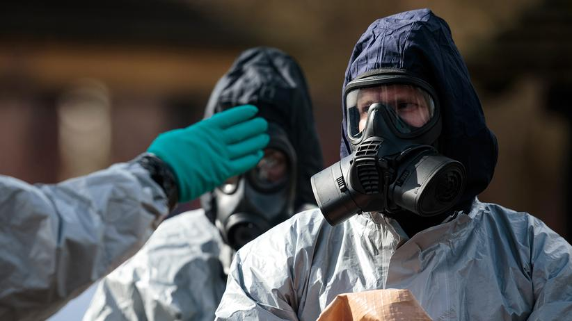 Sergej Skripal: Ermittler in der Nähe des Tatorts