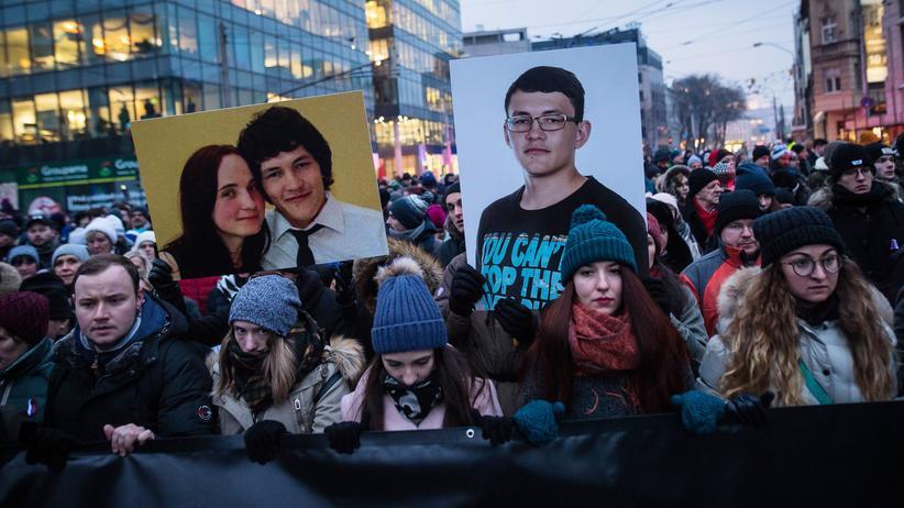 Slowakei: Ermittler gehen im Fall Kuciak von Auftragsmord aus