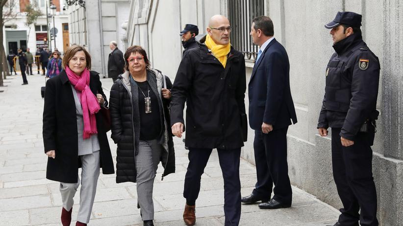 Spanien: Verfahren gegen katalanische Unabhängigkeitsbefürworter eröffnet