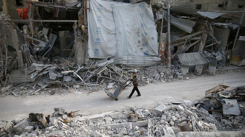 Syrien: Islamistische Kämpfer verlassen Ostghuta