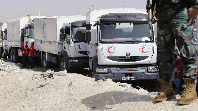 Syrien: Hilfskonvoi erreicht Ostghuta