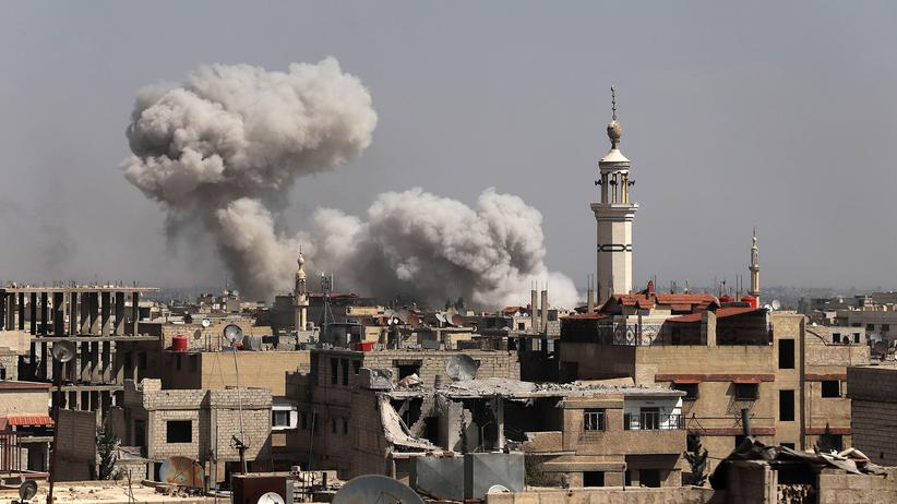 Syrien: Ostghuta durch Angriffe geteilt