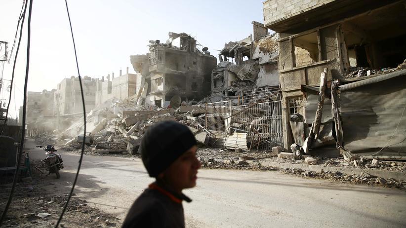 Syrien: Russische und syrische Truppen verstärken Bodenoffensive in Ostghuta
