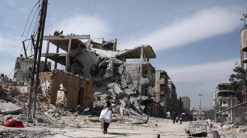 Syrien: Massenflucht aus Ostghuta und Afrin