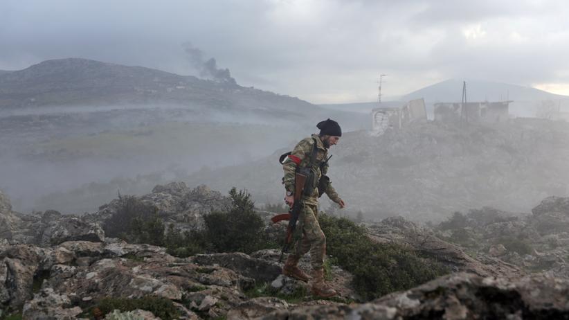 Syrien: Türkische Armee rückt in Afrin vor