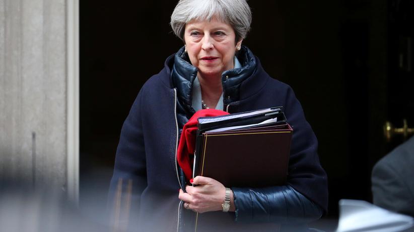London: Die britische Premierministerin Theresa May