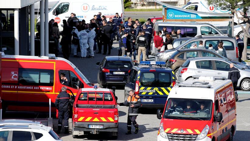 Geiselnahme in Frankreich: Polizei erschießt Geiselnehmer
