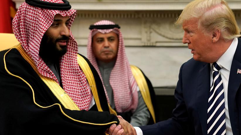 """Trump und Bin Salman: """"Eine großartige Freundschaft"""""""