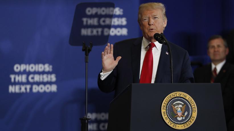 Opioid-Krise: Trump setzt auf Todesstrafe für Drogendealer