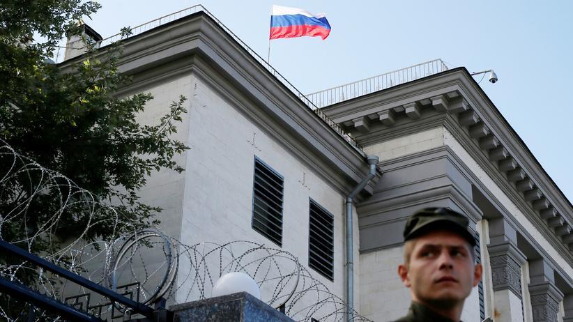 Präsidentschaftswahl in Russland: Ukraine will Russen im Land von der Wahl abhalten