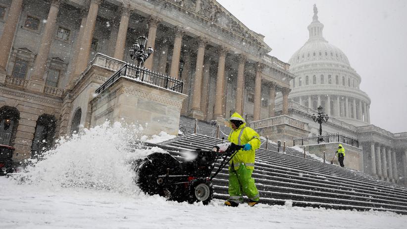 USA: Capitol Hill in Washington