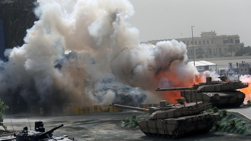 Rüstung: Waffenlieferungen in den Nahen Osten verdoppeln sich