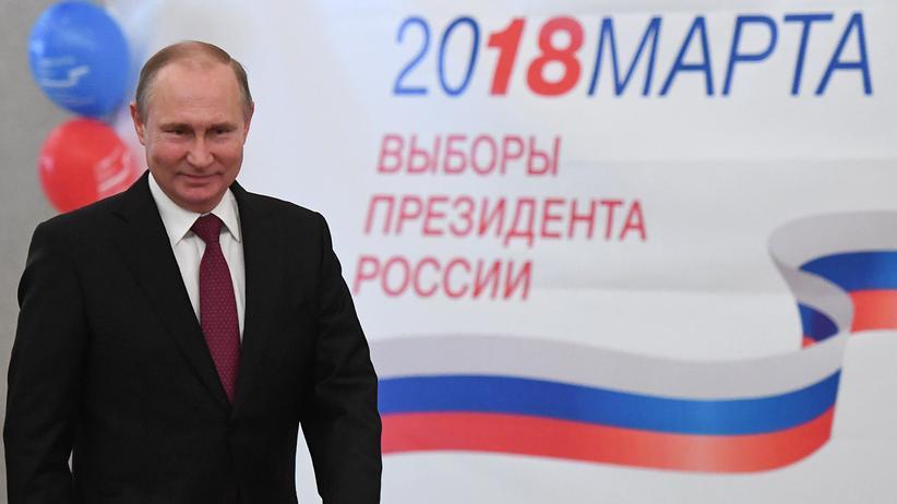Wahl in Russland: Klarer Sieg für Wladimir Putin
