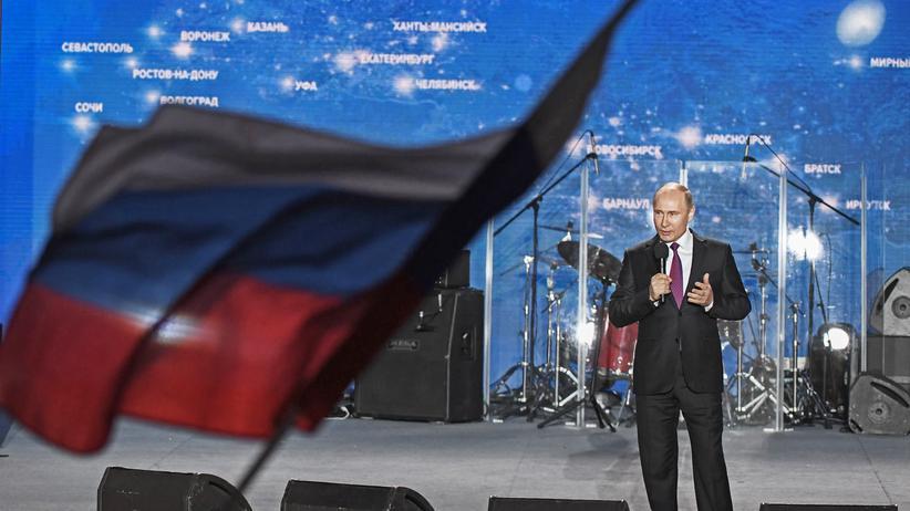 """Wladimir Putin: """"Warum nicht so weitermachen wie bisher?"""""""