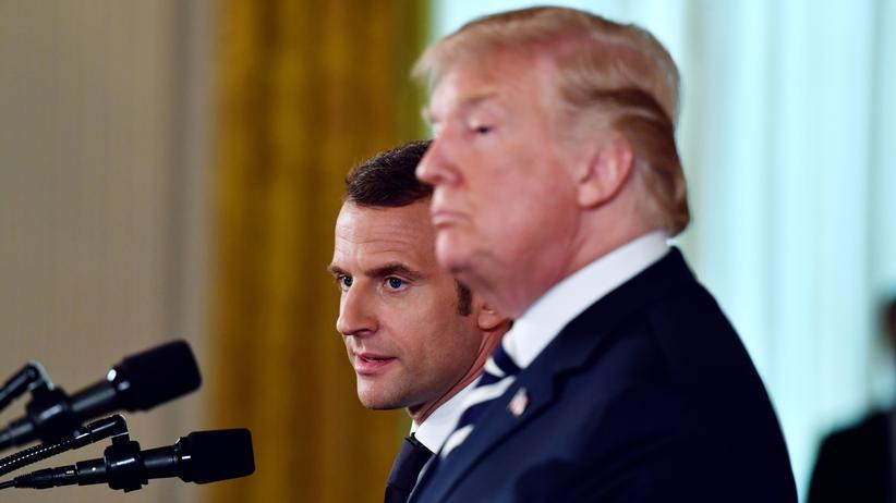 Atomabkommen: Trump und Macron uneinig über Iran-Deal