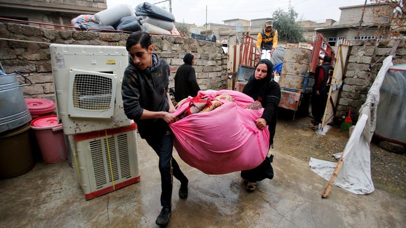 Flüchtlinge: Familie Ahmad kommt nach Hause
