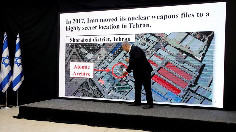 Benjamin Netanjahu: Israel unterstellt Iran geheimes Atomprogramm