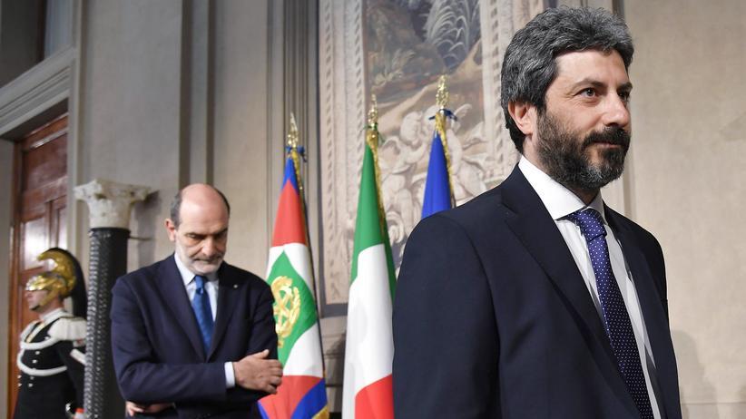 Italien: Fünf Sterne und Sozialdemokraten prüfen Koalition