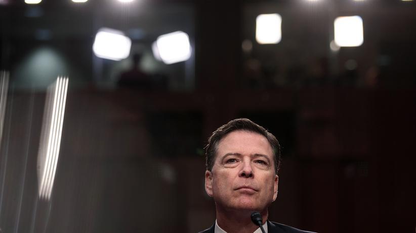 """James Comey: """"Dieser Präsident ist skrupellos"""""""