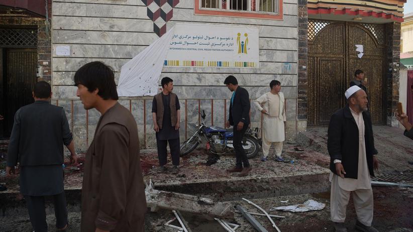 Kabul: Viele Tote bei Anschlag auf Wählerregistrierung