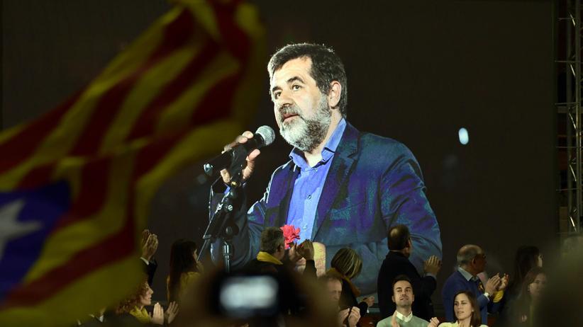 Katalonien: Jordi Sànchez wurde Anfang März erstmals zum Präsidentschaftskandidaten ernannt.