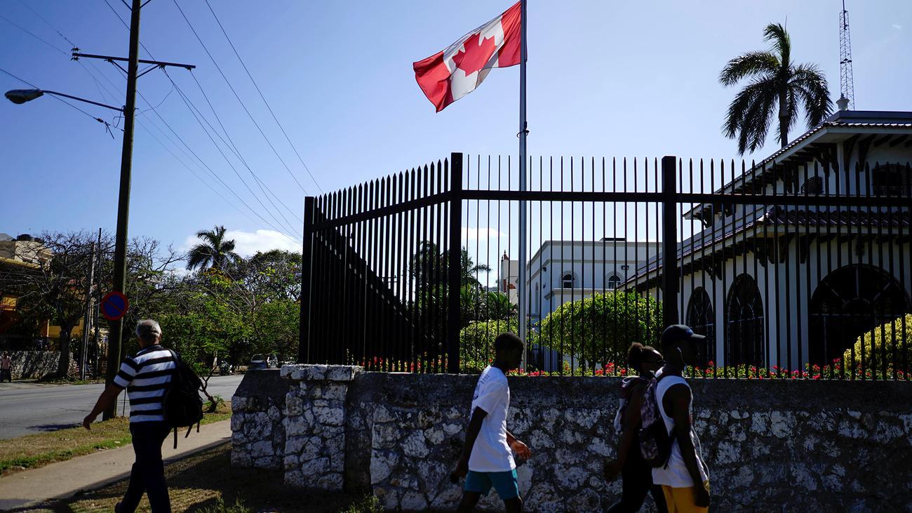 Kanada zieht Angehörige von Diplomaten aus Havanna ab