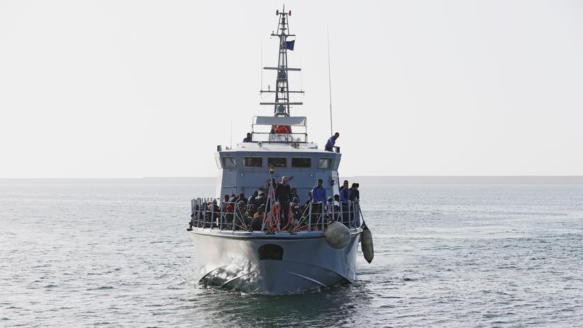 Libyen: Zahl der Mittelmeerflüchtlinge sinkt deutlich