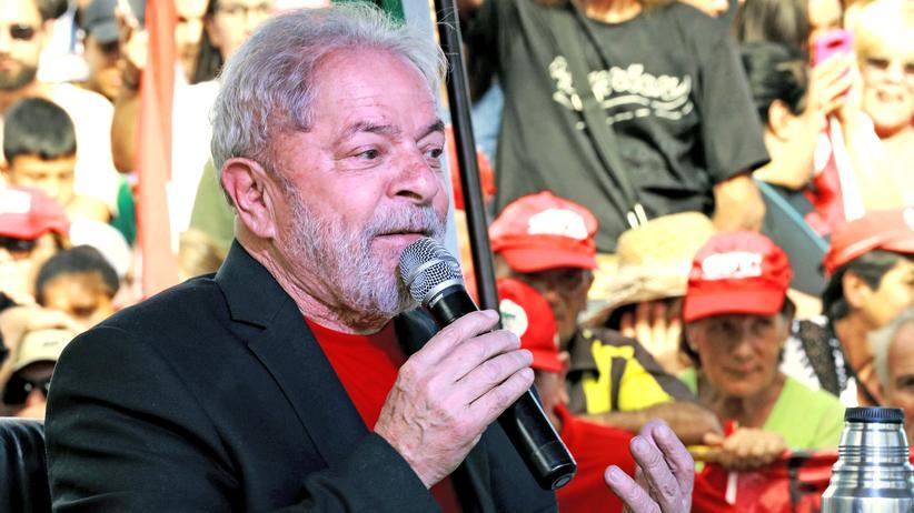 Brasilien: Ex-Staatschef Lula muss in Haft