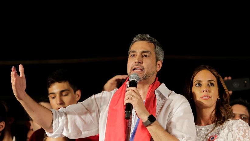 Südamerika: Mario Abdo Benítez gewinnt Präsidentenwahl in Paraguay