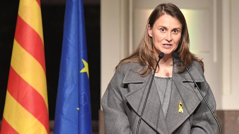 Katalonien: Die ehemalige katalanische Landwirtschaftsministerin Meritxell Serret.