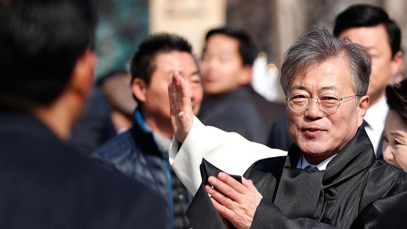 Moon Jae-in: Der Vermittler