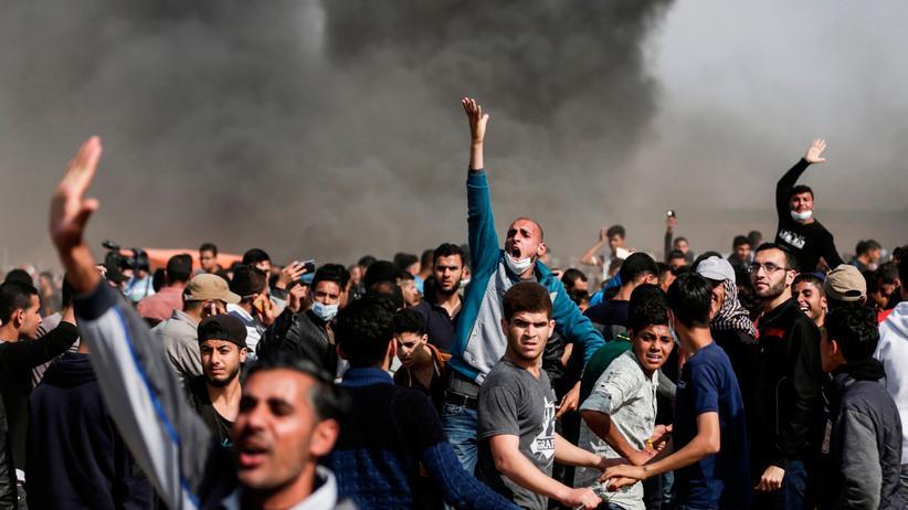 Nahostkonflikt: Drei Palästinenser bei Protesten getötet