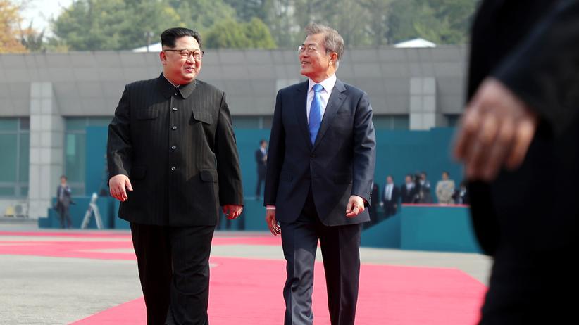 Korea-Konflikt: Süd- und Nordkorea streben nukleare Abrüstung an