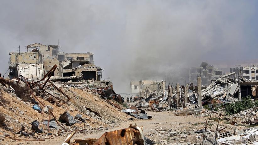 Ostghuta: Viele Zivilisten sterben bei Luftangriffen in Syrien