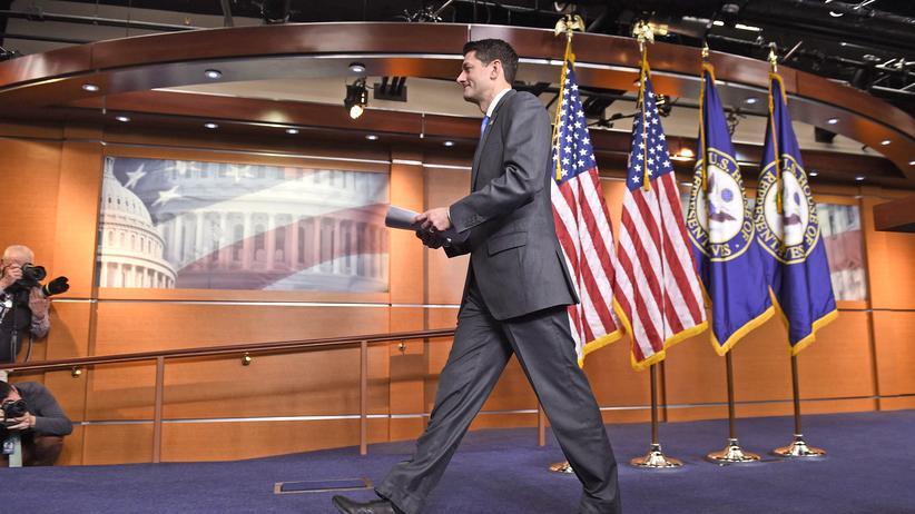 Paul Ryan: Vielleicht kommt er wieder