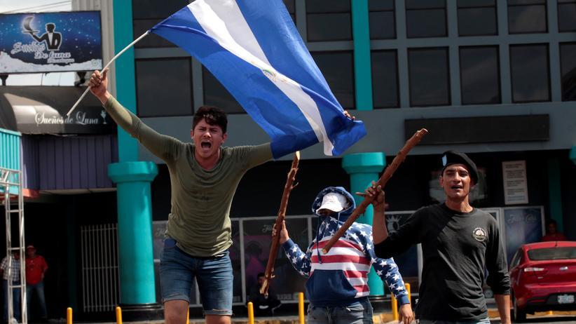 Nicaragua: Demonstraten auf den Straßen Nicaraguas