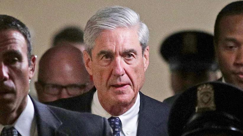 Sonderermittler Robert Mueller nach einem Treffen mit dem Justizausschuss des US-Senats (Archiv)