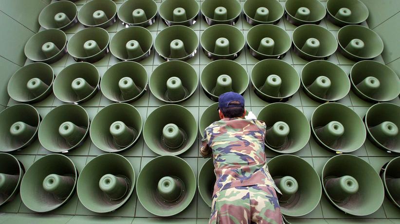 Atomkonflikt: Südkorea stoppt Lautsprecherpropaganda an Grenze zum Norden